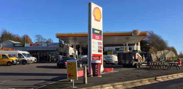 Shell garage for early finishers